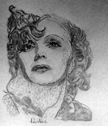 Edith Piaf by fanfan